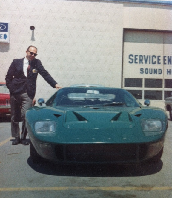 This Ben Berlin, Northwestern's Sales Manager. The GT40s