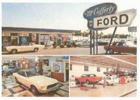 Ken found this awesome picture of McCafferty Ford. They ...